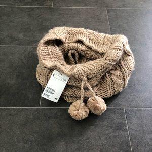 Camel infinity scarf, buff, or cowl. NWT